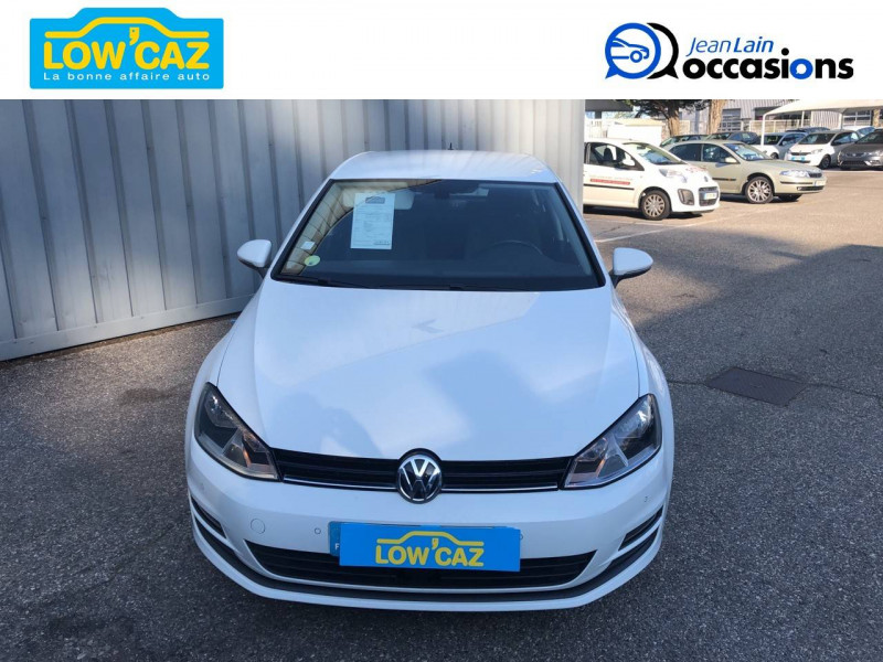 Volkswagen Golf VII Golf 1.6 TDI 110 BlueMotion Technology FAP DSG7 Confortline  Blanc occasion à La Ravoire - photo n°2
