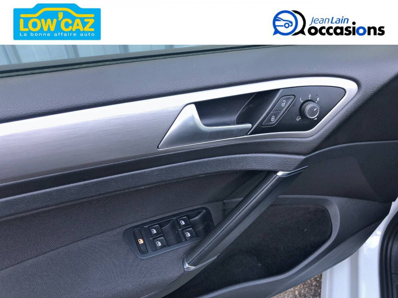 Volkswagen Golf VII Golf 1.6 TDI 110 BlueMotion Technology FAP DSG7 Confortline  Blanc occasion à La Ravoire - photo n°10