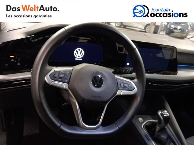 Volkswagen Golf VII Golf 2.0 TDI SCR 115 BVM6 Life Business 1st 5p Gris occasion à La Motte-Servolex - photo n°12