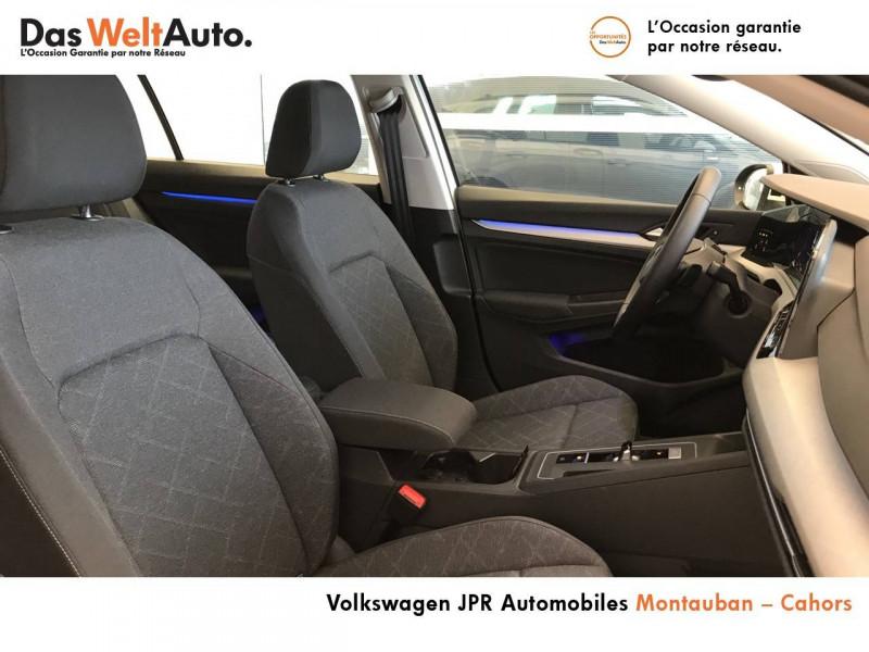 Volkswagen Golf VII Golf 2.0 TDI SCR 150 DSG7 Life 5p Blanc occasion à montauban - photo n°6