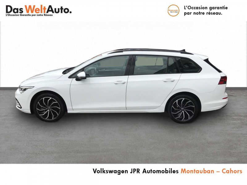 Volkswagen Golf VII Golf 2.0 TDI SCR 150 DSG7 Life 5p Blanc occasion à montauban - photo n°3