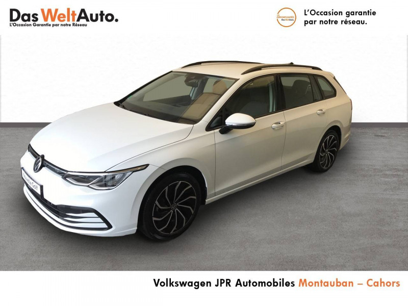 Volkswagen Golf VII Golf 2.0 TDI SCR 150 DSG7 Life 5p Blanc occasion à montauban - photo n°2
