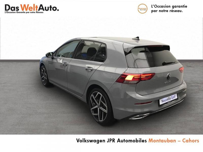Volkswagen Golf VII Golf 2.0 TDI SCR 150 DSG7 Style 1st 5p Gris occasion à montauban - photo n°3