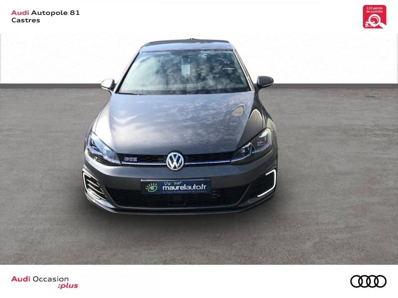 Volkswagen Golf VII Golf Hybride Rechargeable 1.4 TSI 204 DSG6 GTE 5p Gris occasion à Castres - photo n°5