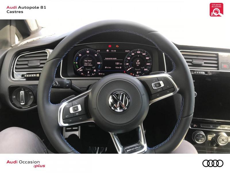 Volkswagen Golf VII Golf Hybride Rechargeable 1.4 TSI 204 DSG6 GTE 5p Gris occasion à Castres - photo n°10