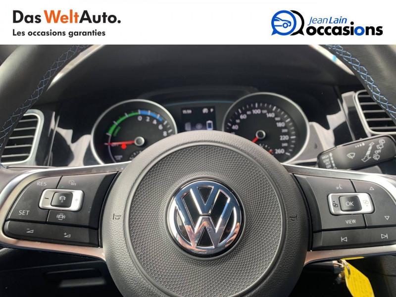 Volkswagen Golf VII Golf Hybride Rechargeable 1.4 TSI 204 DSG6 GTE 5p Blanc occasion à Sallanches - photo n°12
