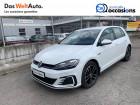 Volkswagen Golf VII Golf Hybride Rechargeable 1.4 TSI 204 DSG6 GTE 5p Blanc à Meythet 74