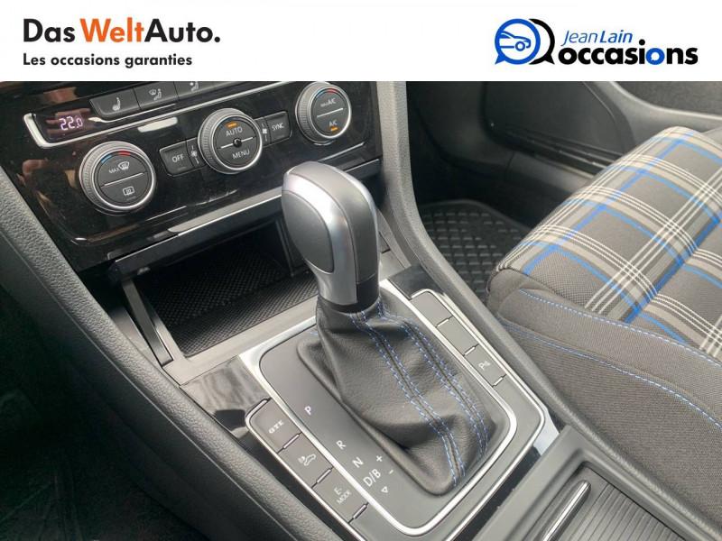 Volkswagen Golf VII Golf Hybride Rechargeable 1.4 TSI 204 DSG6 GTE 5p Blanc occasion à Sallanches - photo n°13