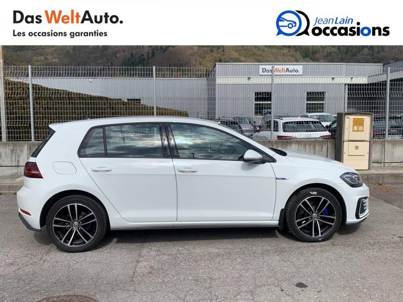Volkswagen Golf VII Golf Hybride Rechargeable 1.4 TSI 204 DSG6 GTE 5p Blanc occasion à Sallanches - photo n°4