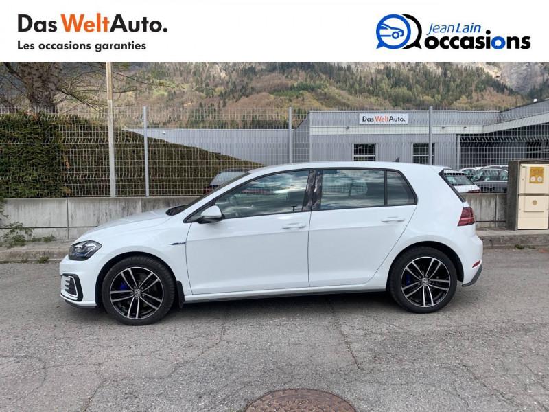 Volkswagen Golf VII Golf Hybride Rechargeable 1.4 TSI 204 DSG6 GTE 5p Blanc occasion à Sallanches - photo n°8
