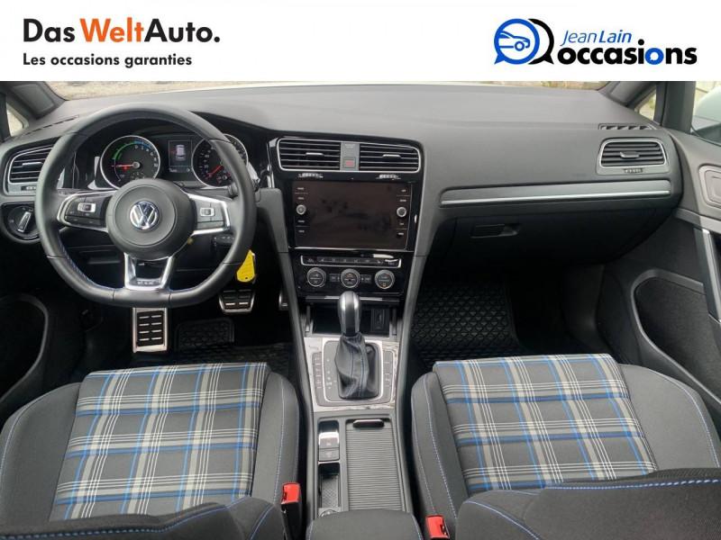 Volkswagen Golf VII Golf Hybride Rechargeable 1.4 TSI 204 DSG6 GTE 5p Blanc occasion à Sallanches - photo n°18