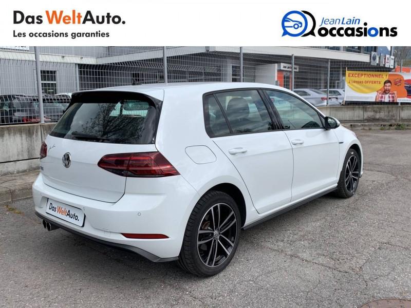 Volkswagen Golf VII Golf Hybride Rechargeable 1.4 TSI 204 DSG6 GTE 5p Blanc occasion à Sallanches - photo n°5