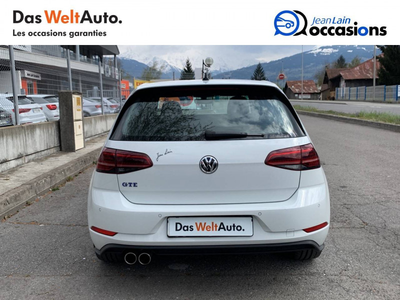 Volkswagen Golf VII Golf Hybride Rechargeable 1.4 TSI 204 DSG6 GTE 5p Blanc occasion à Sallanches - photo n°6