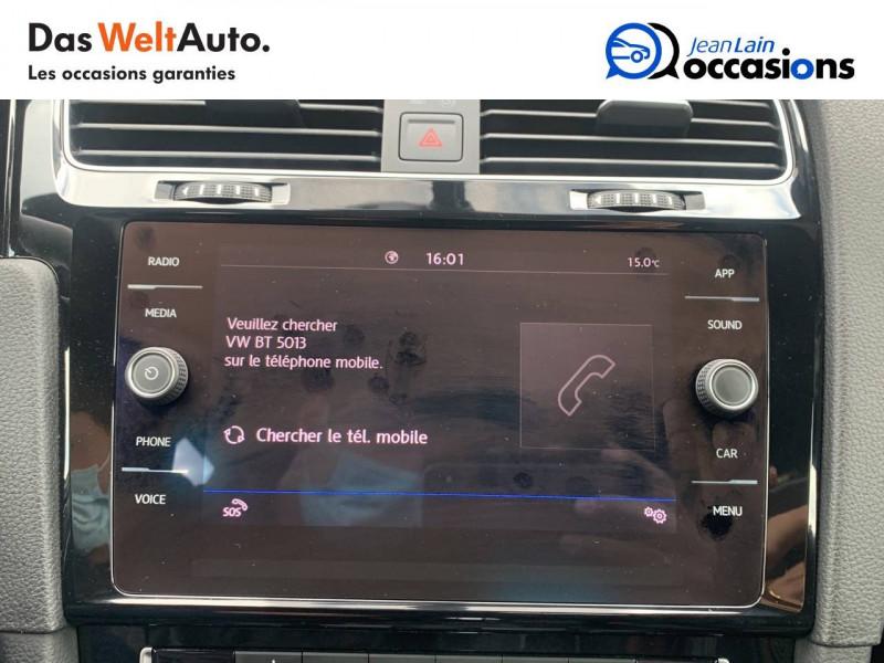 Volkswagen Golf VII Golf Hybride Rechargeable 1.4 TSI 204 DSG6 GTE 5p Blanc occasion à Sallanches - photo n°16