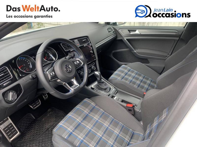 Volkswagen Golf VII Golf Hybride Rechargeable 1.4 TSI 204 DSG6 GTE 5p Blanc occasion à Sallanches - photo n°11