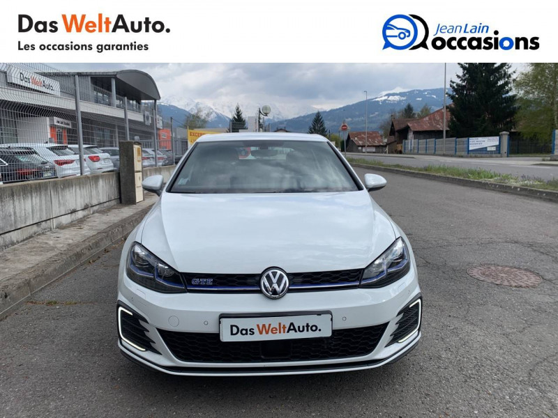Volkswagen Golf VII Golf Hybride Rechargeable 1.4 TSI 204 DSG6 GTE 5p Blanc occasion à Sallanches - photo n°2