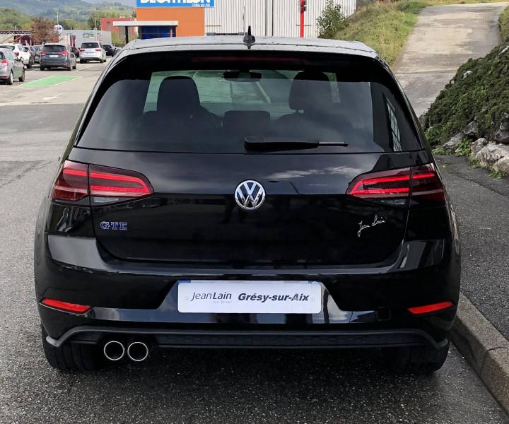 Volkswagen Golf VII Golf Hybride Rechargeable 1.4 TSI 204 DSG6 GTE 5p Noir occasion à Grésy-sur-Aix - photo n°5