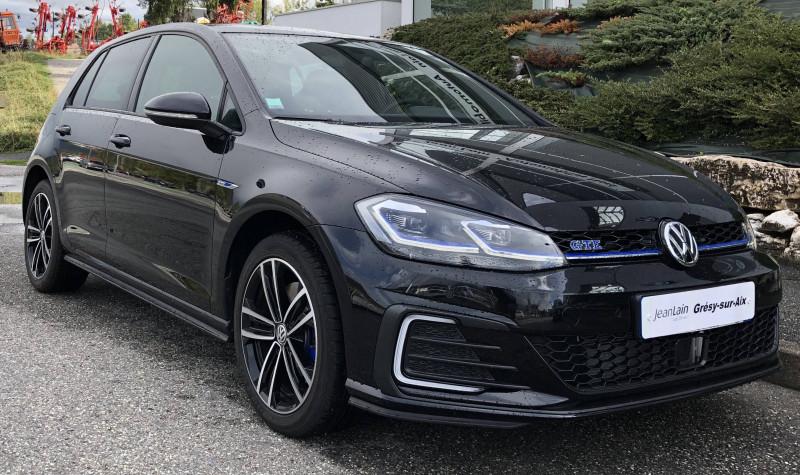 Volkswagen Golf VII Golf Hybride Rechargeable 1.4 TSI 204 DSG6 GTE 5p Noir occasion à Grésy-sur-Aix - photo n°18