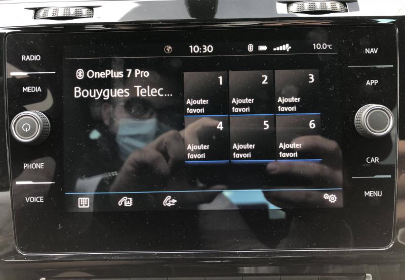Volkswagen Golf VII Golf Hybride Rechargeable 1.4 TSI 204 DSG6 GTE 5p Noir occasion à Grésy-sur-Aix - photo n°13