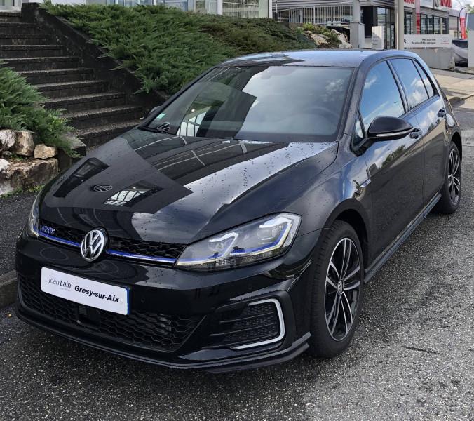 Volkswagen Golf VII Golf Hybride Rechargeable 1.4 TSI 204 DSG6 GTE 5p Noir occasion à Grésy-sur-Aix