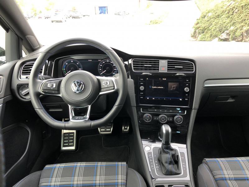 Volkswagen Golf VII Golf Hybride Rechargeable 1.4 TSI 204 DSG6 GTE 5p Noir occasion à Grésy-sur-Aix - photo n°9