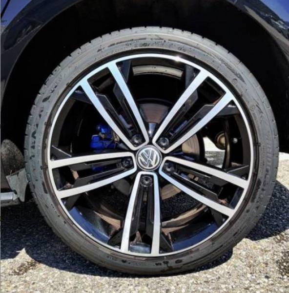 Volkswagen Golf VII Golf Hybride Rechargeable 1.4 TSI 204 DSG6 GTE 5p Noir occasion à Grésy-sur-Aix - photo n°4