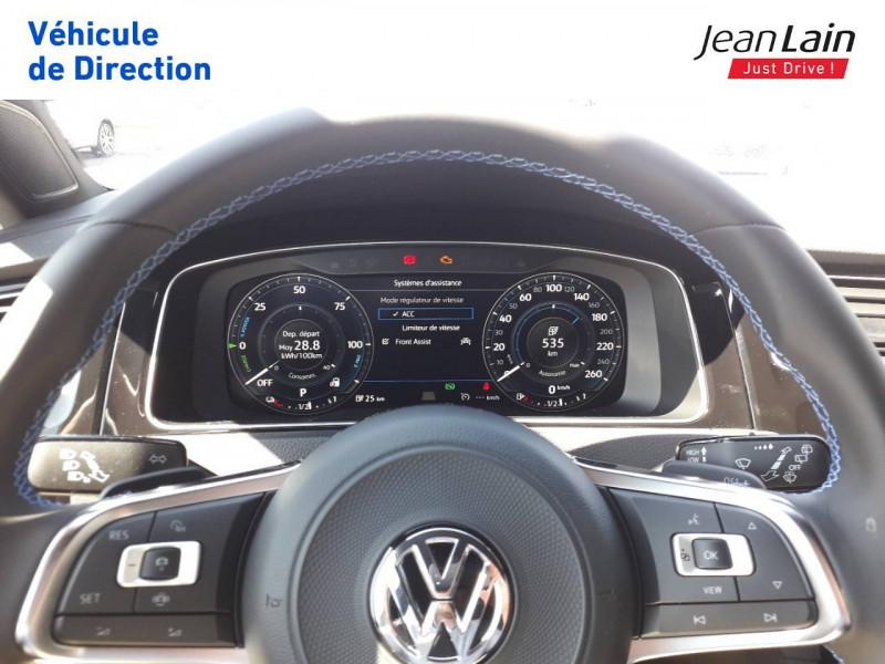 Volkswagen Golf VII Golf Hybride Rechargeable 1.4 TSI 204 DSG6 GTE 5p Gris occasion à Ville-la-Grand - photo n°12