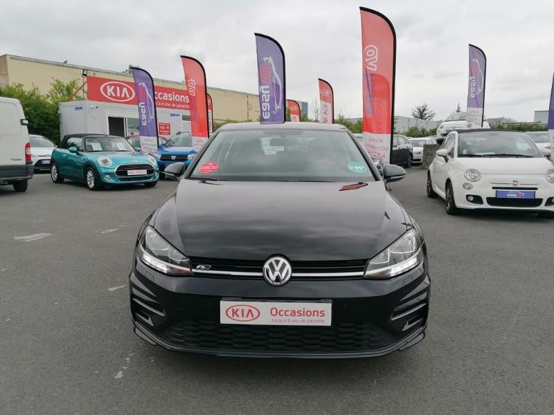 Volkswagen Golf 1.0 TSI 110ch BlueMotion Technology R-Line DSG7 Noir occasion à Saint-Maximin - photo n°2