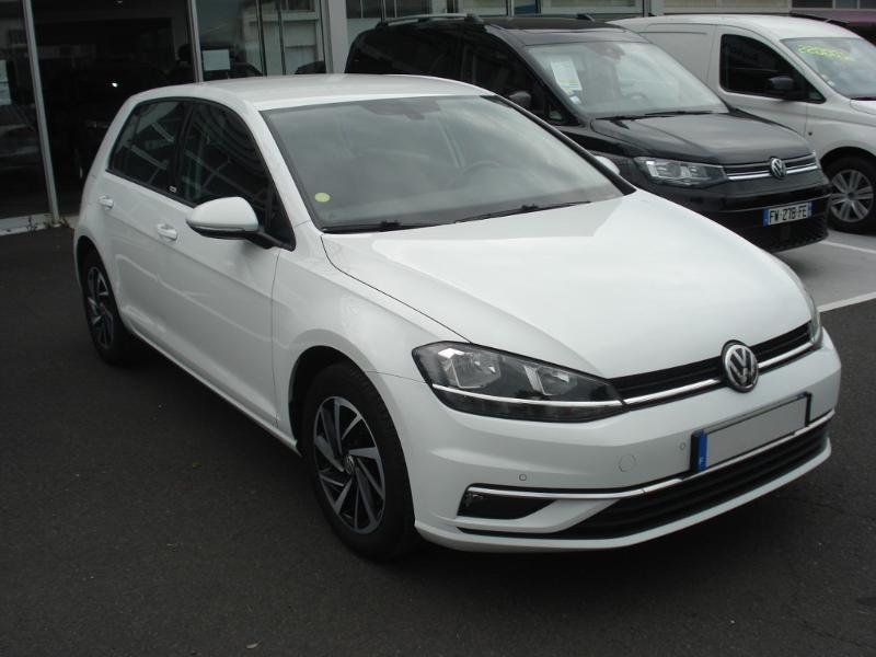 Volkswagen Golf 1.0 TSI 115ch Connect Euro6d-T 5p Blanc occasion à Aurillac