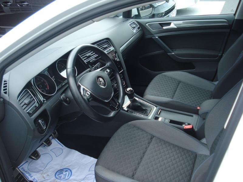 Volkswagen Golf 1.0 TSI 115ch Connect Euro6d-T 5p Blanc occasion à Aurillac - photo n°17