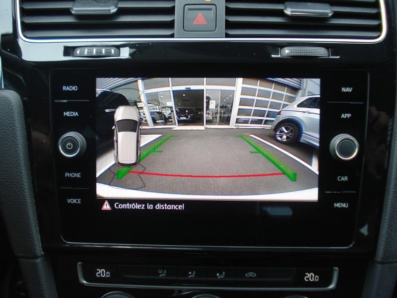 Volkswagen Golf 1.0 TSI 115ch Connect Euro6d-T 5p Blanc occasion à Aurillac - photo n°4