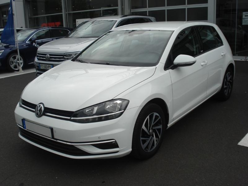 Volkswagen Golf 1.0 TSI 115ch Connect Euro6d-T 5p Blanc occasion à Aurillac - photo n°3