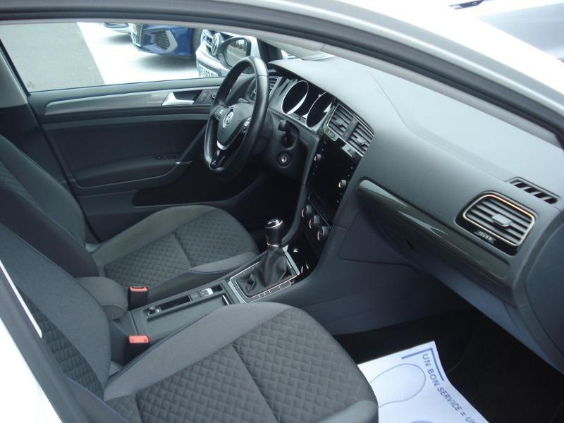 Volkswagen Golf 1.0 TSI 115ch Connect Euro6d-T 5p Blanc occasion à Aurillac - photo n°18