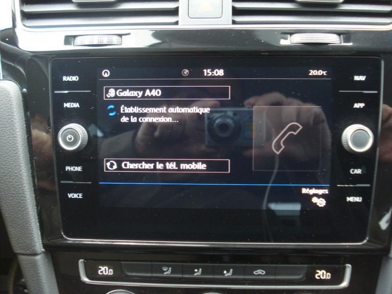 Volkswagen Golf 1.0 TSI 115ch Connect Euro6d-T 5p Blanc occasion à Aurillac - photo n°5