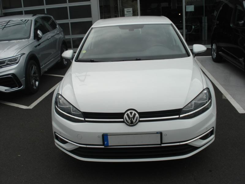 Volkswagen Golf 1.0 TSI 115ch Connect Euro6d-T 5p Blanc occasion à Aurillac - photo n°2