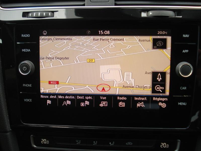 Volkswagen Golf 1.0 TSI 115ch Connect Euro6d-T 5p Blanc occasion à Aurillac - photo n°6