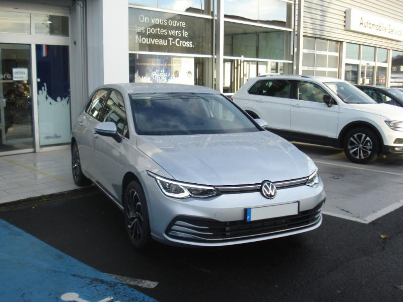 Volkswagen Golf 1.4 eHybrid OPF 204ch Style 1st DSG6 Argent occasion à Aurillac - photo n°2