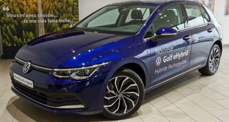 Volkswagen Golf 1.4 Hybrid Rechargeable OPF 204 DSG6 Style 1st Bleu occasion à LADOIX-SERRIGNY