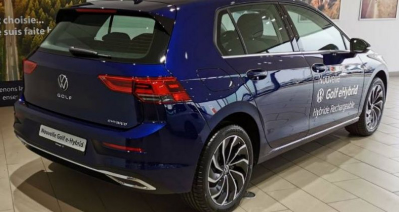 Volkswagen Golf 1.4 Hybrid Rechargeable OPF 204 DSG6 Style 1st Bleu occasion à LADOIX-SERRIGNY - photo n°3