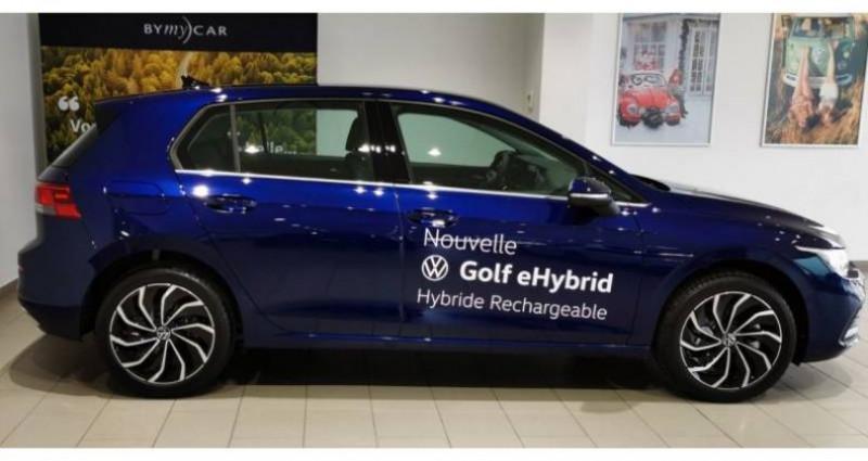 Volkswagen Golf 1.4 Hybrid Rechargeable OPF 204 DSG6 Style 1st Bleu occasion à LADOIX-SERRIGNY - photo n°2