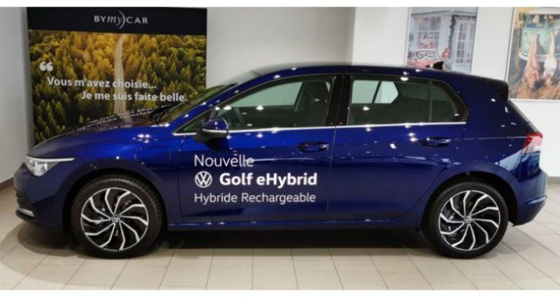 Volkswagen Golf 1.4 Hybrid Rechargeable OPF 204 DSG6 Style 1st Bleu occasion à LADOIX-SERRIGNY - photo n°4