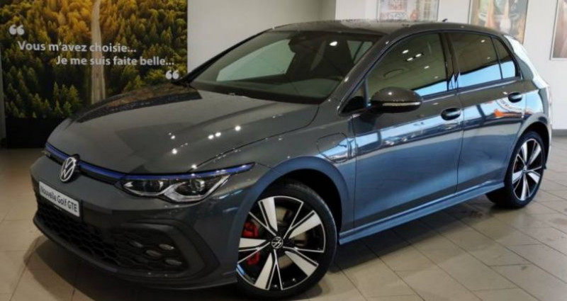 Volkswagen Golf 1.4 Hybrid Rechargeable OPF 245 DSG6 GTE Gris occasion à LADOIX-SERRIGNY