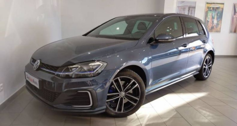 Volkswagen Golf 1.4 TSI 150 Hybride Rechargeable DSG6 GTE Bleu occasion à LADOIX-SERRIGNY