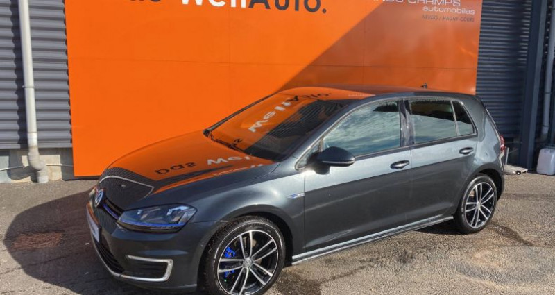 Volkswagen Golf 1.4 TSI 204 Hybride Rechargeable DSG6 GTE Gris occasion à Bourgogne - photo n°2