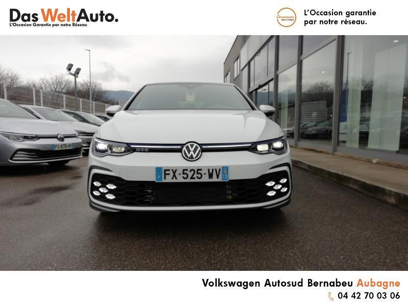 Volkswagen Golf 1.4 TSI 204ch Hybride Rechargeable GTE DSG6 Euro6d-T 5p 8cv Blanc occasion à AUBAGNE - photo n°5