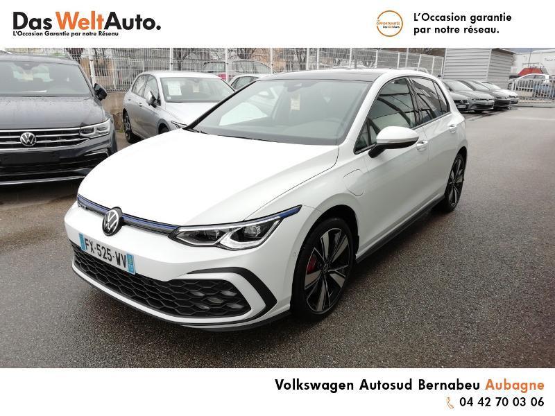 Volkswagen Golf 1.4 TSI 204ch Hybride Rechargeable GTE DSG6 Euro6d-T 5p 8cv Blanc occasion à AUBAGNE