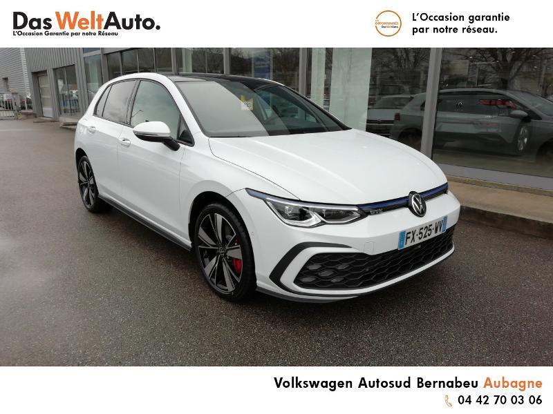Volkswagen Golf 1.4 TSI 204ch Hybride Rechargeable GTE DSG6 Euro6d-T 5p 8cv Blanc occasion à AUBAGNE - photo n°2
