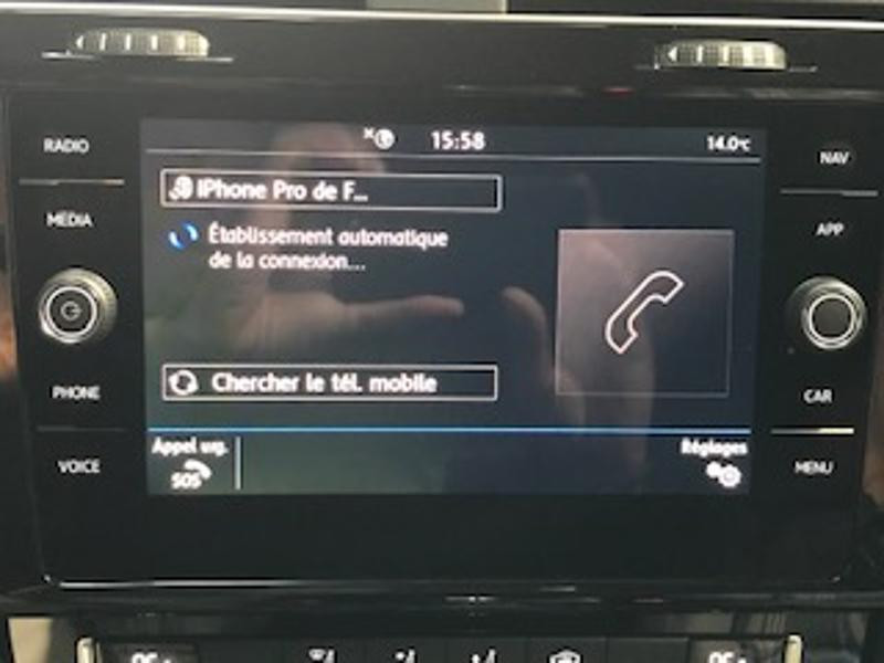 Volkswagen Golf 1.4 TSI 204ch Hybride Rechargeable GTE DSG6 Euro6d-T 5p Blanc occasion à LESCAR - photo n°10