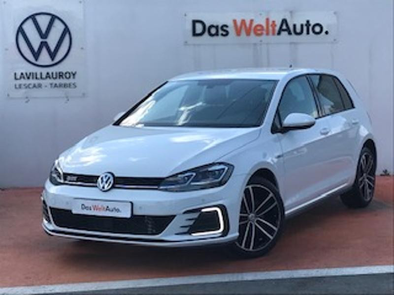 Volkswagen Golf 1.4 TSI 204ch Hybride Rechargeable GTE DSG6 Euro6d-T 5p Blanc occasion à LESCAR