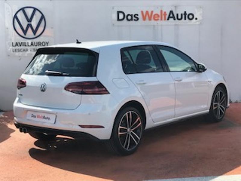 Volkswagen Golf 1.4 TSI 204ch Hybride Rechargeable GTE DSG6 Euro6d-T 5p Blanc occasion à LESCAR - photo n°3